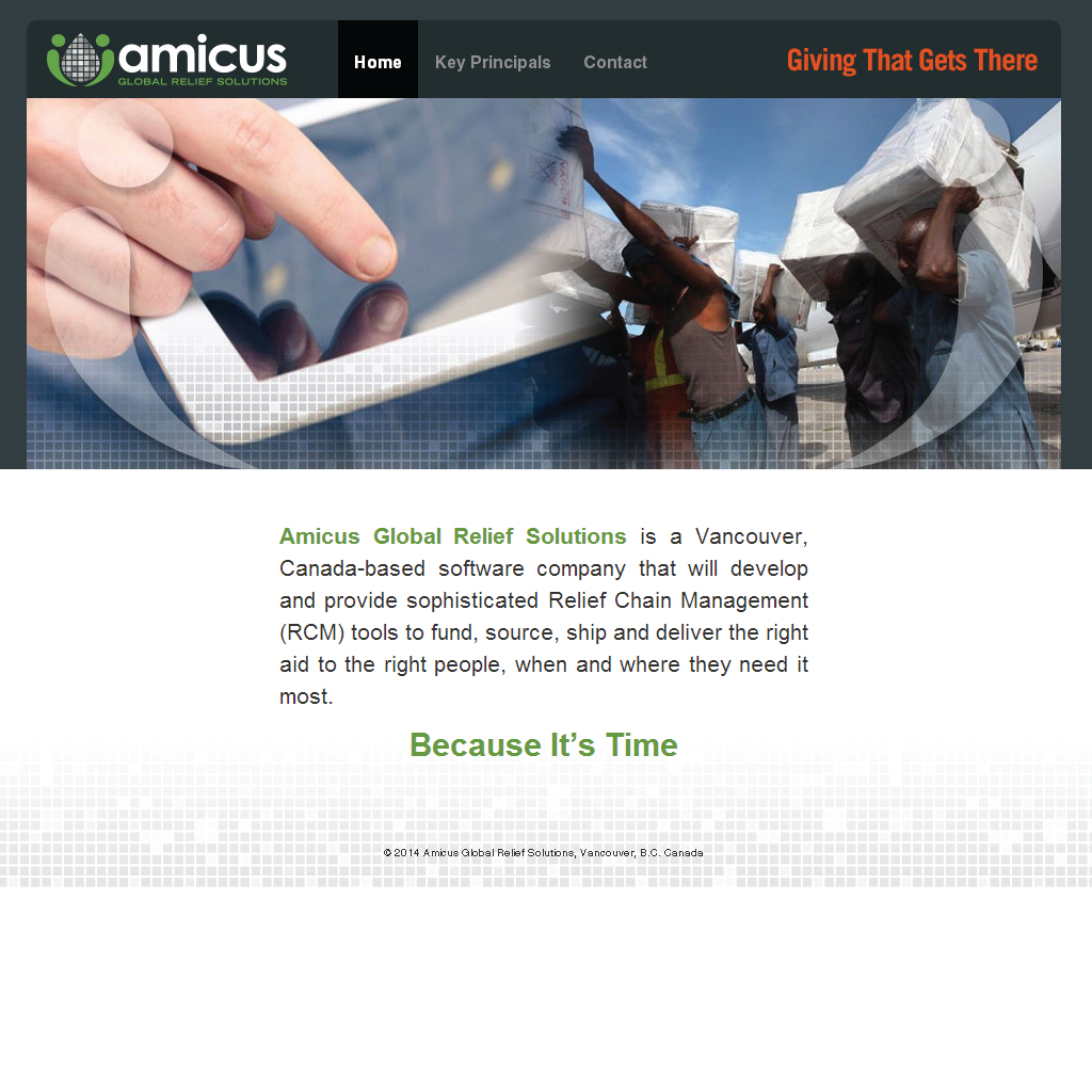 Amicus Relief Solutions Initial Marketing