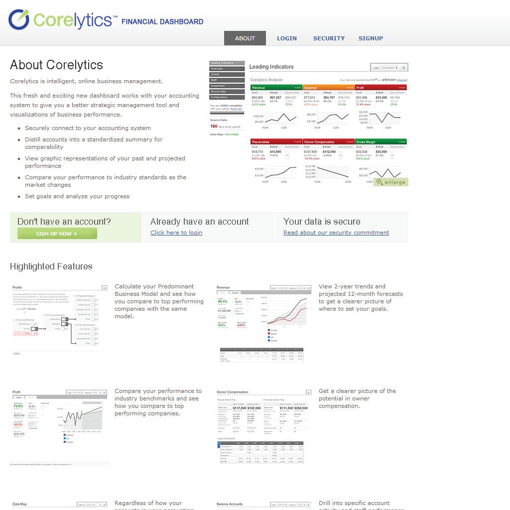 Corelytics Flash to Javascript Chart Conversion