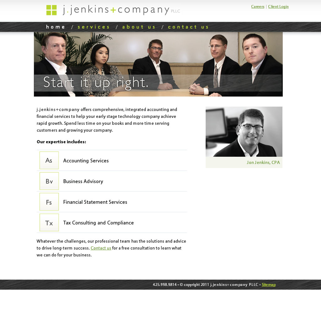 j.jenkins+company static site build