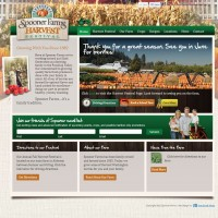 Spooner Farms WordPress site